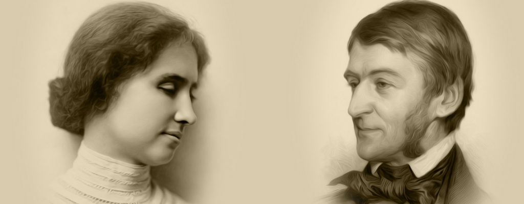 Helen Keller, Solidarity and Ralph Waldo Emerson